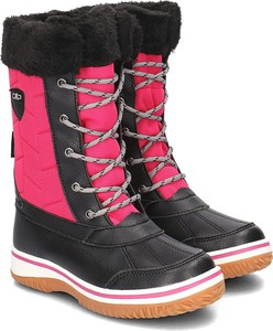 Buty dziecięce zimowe CMP z plaru sznurowane