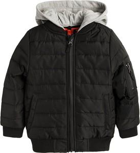 Brązowa kurtka dziecięca Cool Club z bawełny