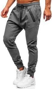 Spodnie Denley z bawełny