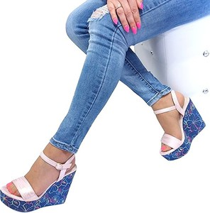 Sandały Vices na platformie