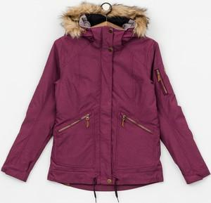 Czerwona kurtka Roxy z tkaniny