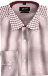 Różowa koszula recman z długim rękawem