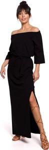 Czarna sukienka Merg