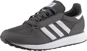 Czarne buty sportowe dziecięce Adidas Originals sznurowane