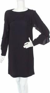 Czarna sukienka Sinéquanone z okrągłym dekoltem