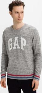 Sweter Gap z okrągłym dekoltem
