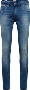 Niebieskie jeansy Tommy Jeans w stylu casual