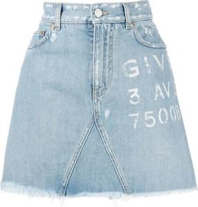 Niebieska spódnica Givenchy mini