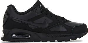 Buty sportowe Nike ze skóry w street stylu sznurowane