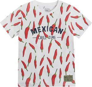 Koszulka dziecięca Cool Club z krótkim rękawem z bawełny dla chłopców