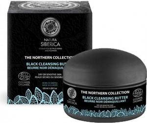 Natura Siberica Czarne masło oczyszczające do mycia i demakijażu twarzy 120ml