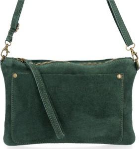Zielona torebka VITTORIA GOTTI na ramię z zamszu