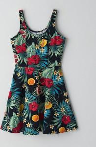Sukienka Cropp z bawełny rozkloszowana