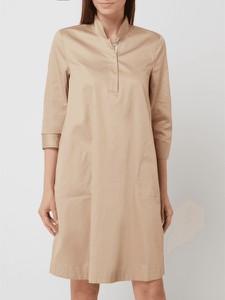 Sukienka Christian Berg z długim rękawem z bawełny w stylu casual