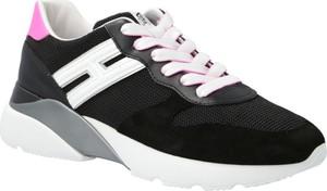 Buty sportowe Hogan z płaską podeszwą sznurowane