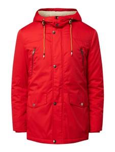Czerwona kurtka Montego z bawełny