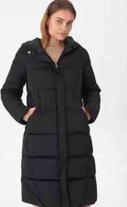 Czarny płaszcz House w stylu casual