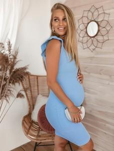 SELFIEROOM Sukienka Sabira - baby blue