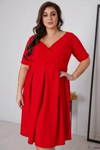 Sukienka tono.sklep.pl z dekoltem w kształcie litery v