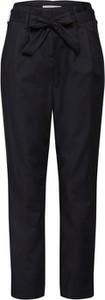 Granatowe spodnie Vila z bawełny