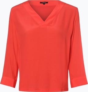 Różowa bluzka Opus z długim rękawem