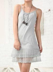 Sukienka Cikelly z okrągłym dekoltem mini na ramiączkach