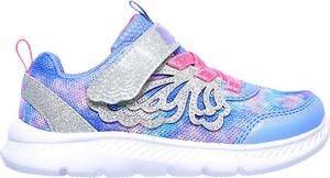 Buty sportowe dziecięce Skechers ze skóry sznurowane