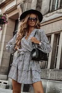 Sukienka Shopaholics Dream z długim rękawem