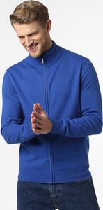 Niebieski sweter Andrew James z bawełny