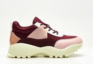 Sneakersy Cropp w młodzieżowym stylu na obcasie