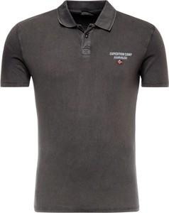 Koszulka polo Napapijri w stylu casual z krótkim rękawem
