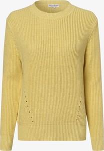 Żółty sweter Marie Lund z dzianiny