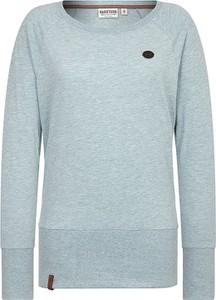 Niebieski sweter Naketano w stylu casual
