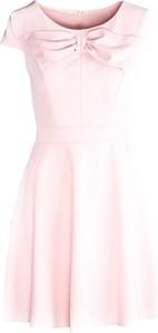 Różowa sukienka Multu mini