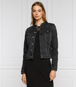 Czarna kurtka Tommy Jeans w stylu casual