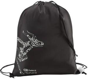 Czarny plecak męski Kalenji z tkaniny