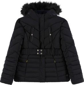 Czarna kurtka dziecięca Tom Tailor dla dziewczynek