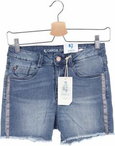 Granatowe spodenki dziecięce Garcia Jeans z jeansu