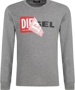 Koszulka dziecięca Diesel z długim rękawem