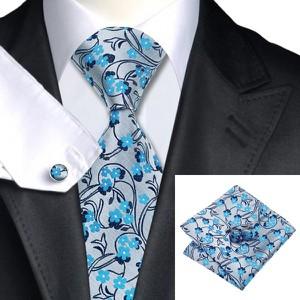 Błękitny krawat e-spinki.pl