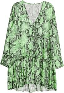 Zielona sukienka Emm Copenhagen w stylu casual z długim rękawem