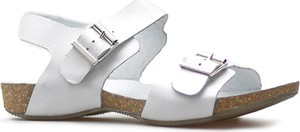 Sandały Lesta w stylu casual z klamrami ze skóry