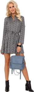 Sukienka MERRIBEL szmizjerka mini w stylu casual
