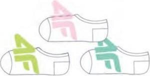 Skarpetki 4F dla dziewczynek