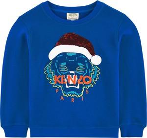 Niebieska bluza dziecięca Kenzo Kids
