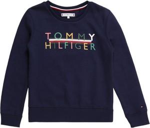 Bluzka dziecięca Tommy Hilfiger z długim rękawem z tkaniny