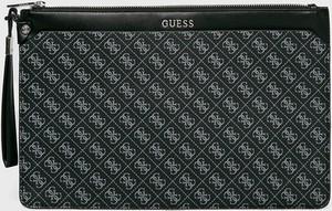 Czarna torebka Guess Jeans matowa mała