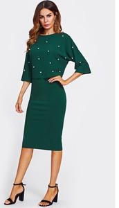 9884a6432b sukienka wieczorowa za kolano - stylowo i modnie z Allani