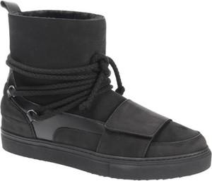 Buty zimowe Inuikii ze skóry sznurowane