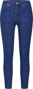 Niebieskie jeansy Gap z jeansu